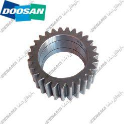 دنده دیفرانسیل بیل مکانیکی چرخ لاستیکی دوسان Doosan