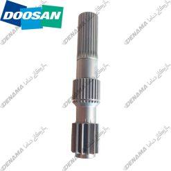 پلوس دیفرانسیل بیل مکانیکی دوسان سولار چرخ لاستیکی Doosan Solar