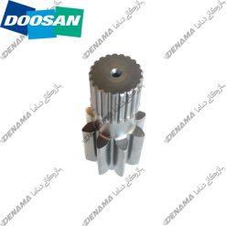دنده وسط گیربکس چرخ بیل مکانیکی دوسان سولار Doosan Solar 230