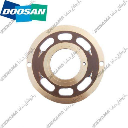 ولو پلیت پمپ گردان بیل مکانیکی دوسان سولار-دی ایکس Doosan Solar DX 300