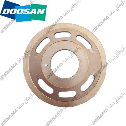ولو پلیت پمپ گردان بیل مکانیکی دوسان سولار-دی ایکس Doosan Solar DX 230