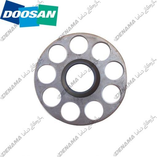 ست پلیت پمپ حرکت بیل مکانیکی دوسان سولار Doosan Solar 420