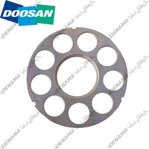 ست پلیت پمپ گردان بیل مکانیکی دوسان سولار Doosan Solar 230