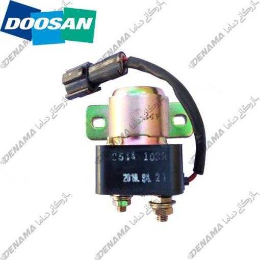 رله استارت بیل مکانیکی دوسان Doosan