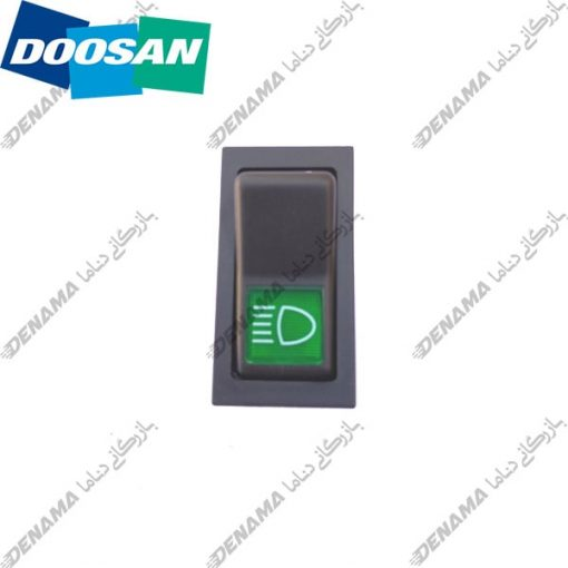 کلید چراغ بیل مکانیکی دوسان سولار Doosan Solar