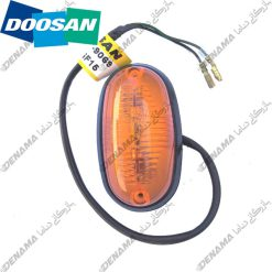 چراغ بغل بیل مکانیکی دوسان چرخ لاستیکی Doosan