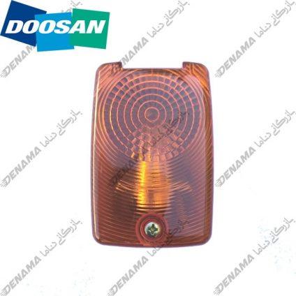 چراغ راهنما بیل مکانیکی دوسان چرخ لاستیکی Doosan