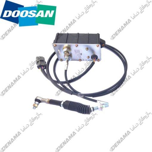 گاز برقی بیل مکانیکی دوسان سولار Doosan Solar