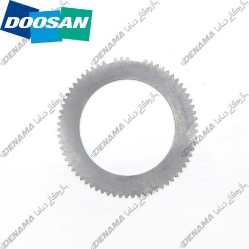 صفحه فلزی چرخ بیل مکانیکی دوسان و هیوندا چرخ لاستیکی